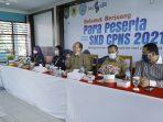Pemkab Asahan Laksanakan Ujian SKD Pengadaan CPNS Tahun 2021