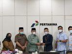 Plt Wali Kota Tanjung Balai Kunker Ke PT Pertamina (Persero) UPMS -1 Medan