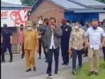 Presiden Jokowi Tinjau Vaksinasi di SMK1 Beringin Deli Serdang