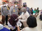 Polres Asahan dan Lanal TBA Gelar Vaksinasi Covid-19
