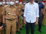 Bupati Asahan Hadiri Kunjungan Presiden Jokowi di Sumatera Utara