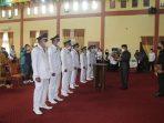 Tujuh Kepala Mukim Dikukuhkan Wako Subulussalam