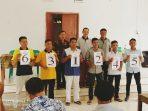 Pencabutan Nomor Urut Calon BPD Desa Wango Dilaksanakan