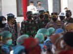 Serbuan Vaksinasi Sasar 15.000 Warga Banyuwangi Dihadiri Panglima TNI dan Kapolri