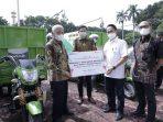 Pemkab Asahan Terima Bantuan 3 Motor Pengangkut Sampah dari PT Inalum