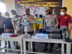 Polres Binjai Ungkap Sindikat Curanmor Antar Kabupaten