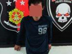 Pencuri Laptop di Sekolah Ditangkap Reskrim Polres Asahan